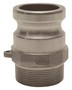 "Dixon 100-F-HA 1"" Hast Male Adapter x Male NPT"
