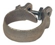 Dixon 10 Plated Iron King Clamp