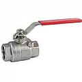 "Dwyer BV2M100 1/4"" two-piece stainless steel ball valve"