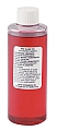 Dwyer A-102 4 oz bottle of red gage oil, 826 specific gravity