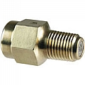 "Dwyer PS222 Pressure snubber, for water & oil service, 1/4"" NPT. ( Stainless Steel)"