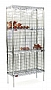 "Eagle Group BW1436BL 14"" x 36"" black, bulk wine storage unit with no doors. 180"