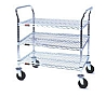 "Eagle Group EU3-1824Z 18"" x 24"" EAGLEbrite zinc, three-shelf - medium duty utili"