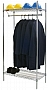 "Eagle Group GR1836C 18"" x 36"" stationary garment rack, with one top and one bott"