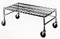 "Eagle Group MDR1848-C 18"" x 48"" chrome, mobile dunnage rack."