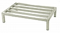 "Eagle Group WDR203612-A 20"" x 36"" x 12"" aluminum dunnage rack. 2000 lb. weight c"