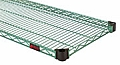 "Eagle Group QA1460E 14"" x 60"" EAGLEgard, Quad-Adjust wire shelf."