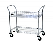 "Eagle Group EU2-1824Z 18"" x 24"" EAGLEbrite zinc, two-shelf - medium duty utility"