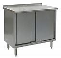 """UCB2436SE 24"""" x 36"""" spec-master enclosed worktable with upturn and sliding doors."""