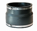 """Fernco 1002-66WC Flexible Coupling, 6""""x6"""", Clay to Cast Iron/Plastic, Sold 2/Pack"""