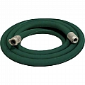"1-1/4"" Blast Hose Assembly, Green, 25 Feet, Aluminum Fittings"