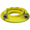 "10-300YEL-050-2 3"" Air Hose Assembly (Yellow) W/Couplings"