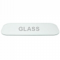 "104-006 View Window, Safety Glass, 9"" X 24"", Laminated (Pre 1999)"