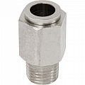 "111-7360 Push-In Fitting, Straight, 3/8"" Tube  X 1/4"" NPT"
