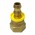 """1219-350 Fitting, 1/2"""" Swivel To 3/8"""" Barb"""
