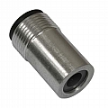 "Nozzle, Boron Carbide, Short Straight, 3/8"" Bore"