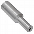 "1725-0400 Nozzle, Slip On, Tungsten Carbide, Venturi, 1/4"" Bore, Alum Jacket"