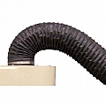 "220-006 Hose, Dust, Nominal 6"" ID, Price Per Foot, Box Size 50', Sold In 10' Increments Only"