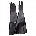 "Glove, Textured Rubber, Black, 8"" Dia x 24"", Pair"