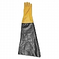 "Glove, Textured Rubber, Yellow, 8-1/2"" Dia x 26"", Left Glove Only"