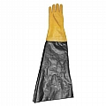 "Glove, Textured Rubber, Yellow, 8-1/2"" Dia x 26"", Right Glove Only"