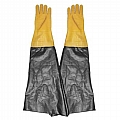 "Glove, Textured Rubber, Yellow, 8-1/2"" Dia x 26"", Pair"