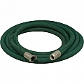 "1"" Blast Hose Assembly, Green, 25 Feet, Aluminum Fittings"
