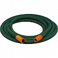 "1"" Blast Hose Assembly, Green, 25 Feet, Nylon Fittings"