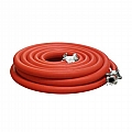 "10-100RED-025-1 1"" Air Hose Assembly (Red) W/Couplings, 25 Ft"