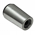 "Nozzle, Tungsten Carbide, Straight Bore, 1/4"" Bore, Alum Jacket"