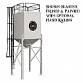 Forecast 20F888110772502PB Hopper, Storage, 725 Cu. Ft. (20,500 Liters), With Removable Ladder An