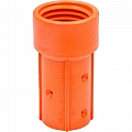 "Nozzle Holder, 50mm, Nylon, 3/4"", 125 PSI Max"