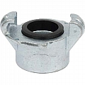 Threaded Quick Coupling, Iron, 1-1/2""