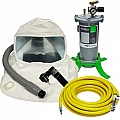 507102-PFC T100 Respirator Package W/ Flow Control Valve, Airline Filter & 50' Breathing Air Supply Hose