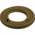 "1-1/4"" Blast Hose Assembly W/ Brass Couplings, 50' Tan Blast Hose"