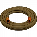 "1-1/4"" Blast Hose Assembly W/ Nylon Couplings, 50' Tan Blast Hose"