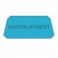 """Underlayment, 14"""" X 22"""", Each"""