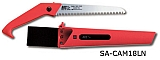 "Growtech SA-CAM18LN Camping Saw w/Red Sheath, 7"" Bl., N"