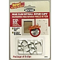"Hyde 9042 Bear Claw Drywall Repair Clips, 5/8"" (8)"