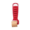 "Hyde 30120 Red Star Hardwood Roller, 1-1/4"" flat"