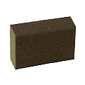 Hyde 45375 Angled Foam Sanding Block, medium/coarse