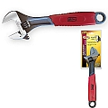 "Ivy Classic 18204 12"" Adjustable Wrench - Rubber Grip"