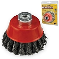 "Ivy Classic 39038 3"" Knot Wire Cup Brush"