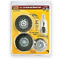 Ivy Classic 39083 4 Pc. DIY Brush/Wheel Set