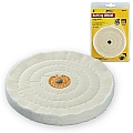 "Ivy Classic 39120 4"" x 1/2"" Cotton Buffing Wheel"