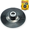"Ivy Classic 42392 7"" Rubber Backing Pad w/ 5/8""-11 Locking Nut"