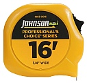 "Johnson Level 1803-0016 16' x 3/4"" Professional's"