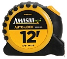 "Johnson Level 1804-0012 12' x 5/8"" Auto-Lock Tape"