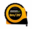 Johnson Level 1828-0026 8m/26ft Tape Measure