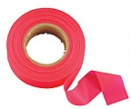 Johnson Level 3301-R Flagging Tape Glo Red